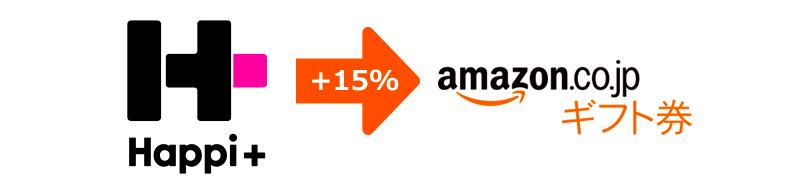 STEP2 Amazonギフト券への句悪寒が最大15%増量!