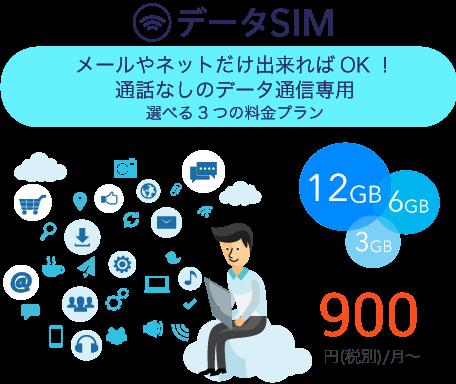 データSIM
