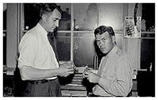 創業者のビル・ヒューレットとデイブ・パッカード
